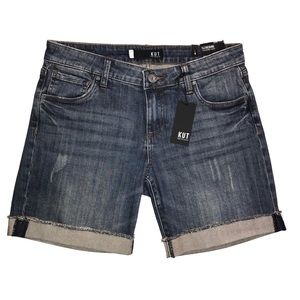 NWT Women's KUT From the Cloth Jean Shorts